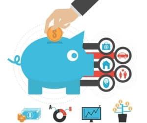 ahorro, la inversión y los beneficios
